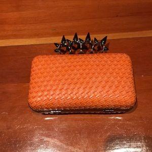 Alexander McQueen Imitation Orange Clutch